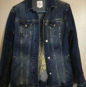 Lularoe Jaxon Jean jacket size small
